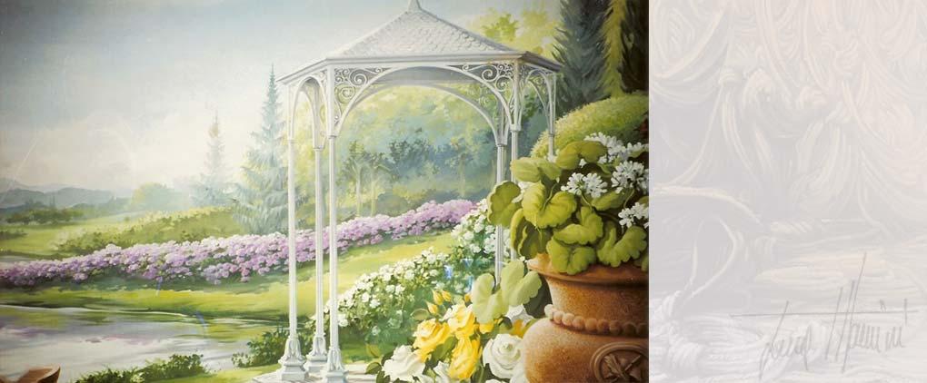Luca Mancini Artist Painter Decorator